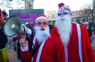 Père Noël à Montpellier : les retraites