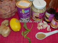 Curry rosu de pui