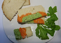 Pate de legume tricolor