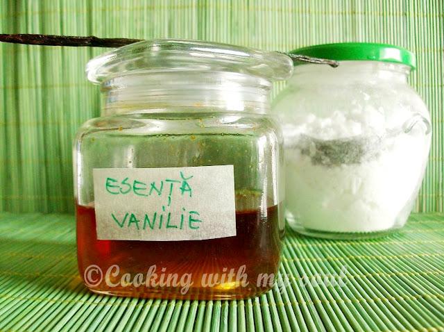Zahar vanilat facut in casa si esenta de vanilie