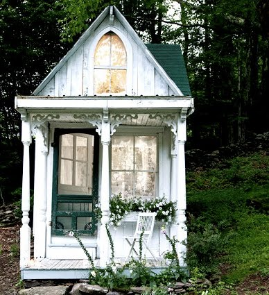 Helen James Design Clearing And A Tiny Victorian Cottage
