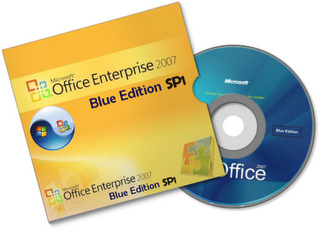 Microsoft Office 2007 Enterprise Blue Edition SP1 en Espaol