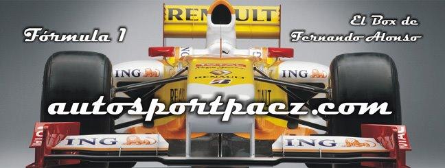 El Box de Fernando Alonso Fórmula 1
