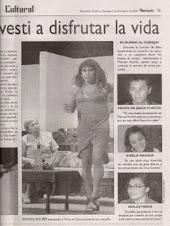 AFECTUOSAMENTE..., con el grupo de teatro La Cachimba, de Mazatlán, Sinaloa.