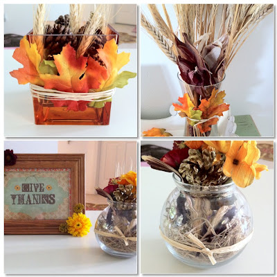 cheap and simple diy thanksgiving decor ideas