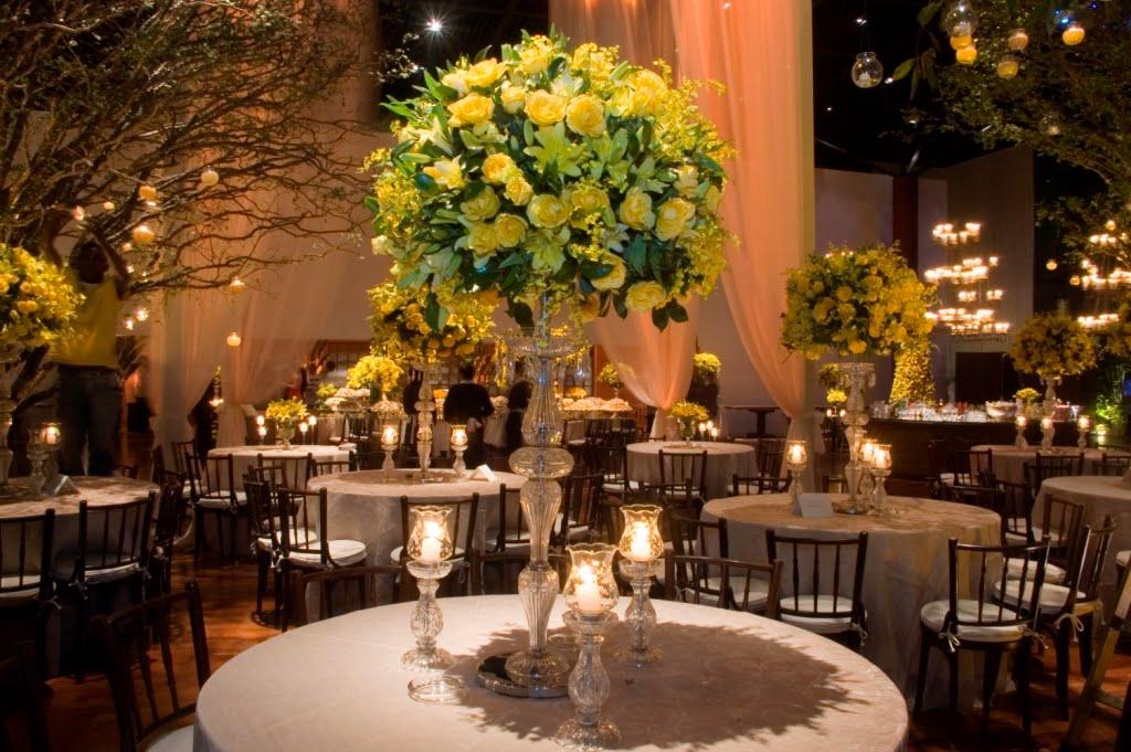 decoracao para casamento em azul e amarelo:Eu já fui no Atelier deles, os Cristais que eles tem são Demais!!