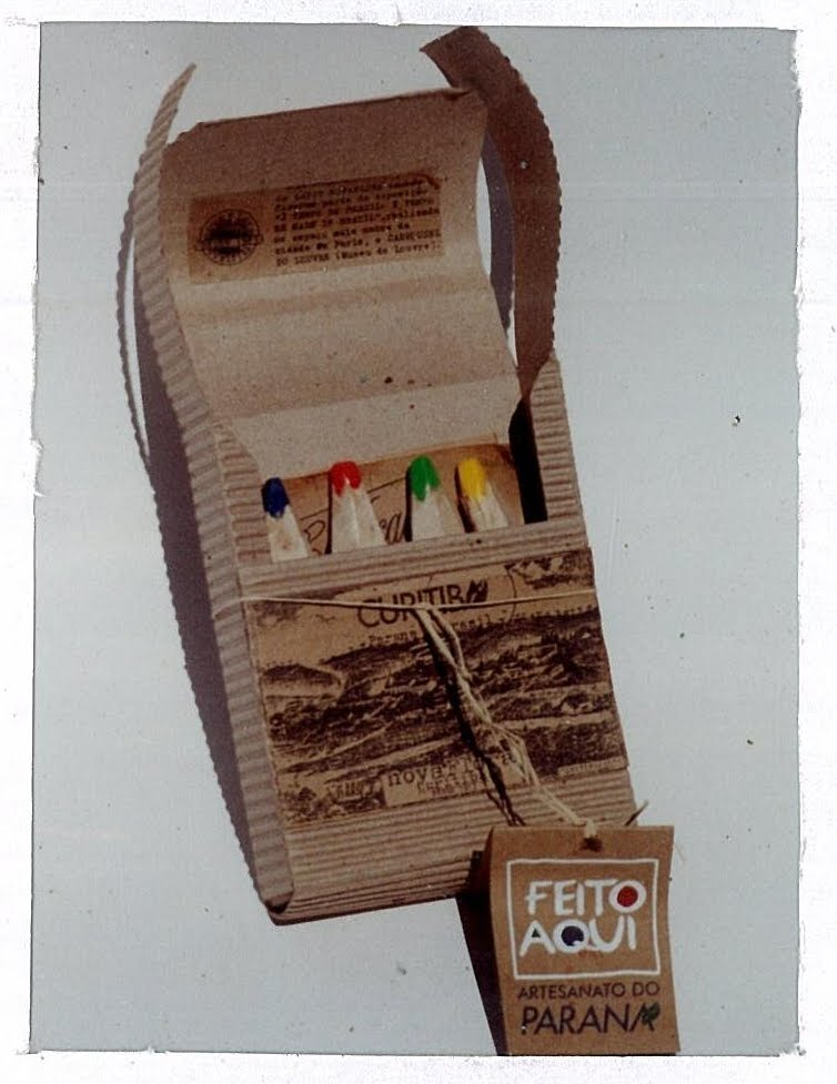 Artesanato Tecido ~ Museu do Lápis Ecológico do Brasil Artesanato do Paraná