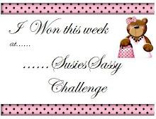 I won Susies challenge
