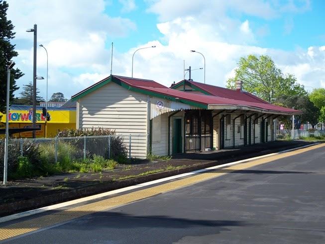 Timespanner Old Henderson Train Station