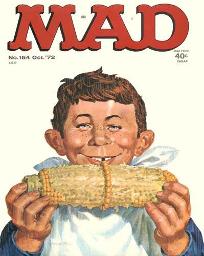 Portadas de la revista Mad