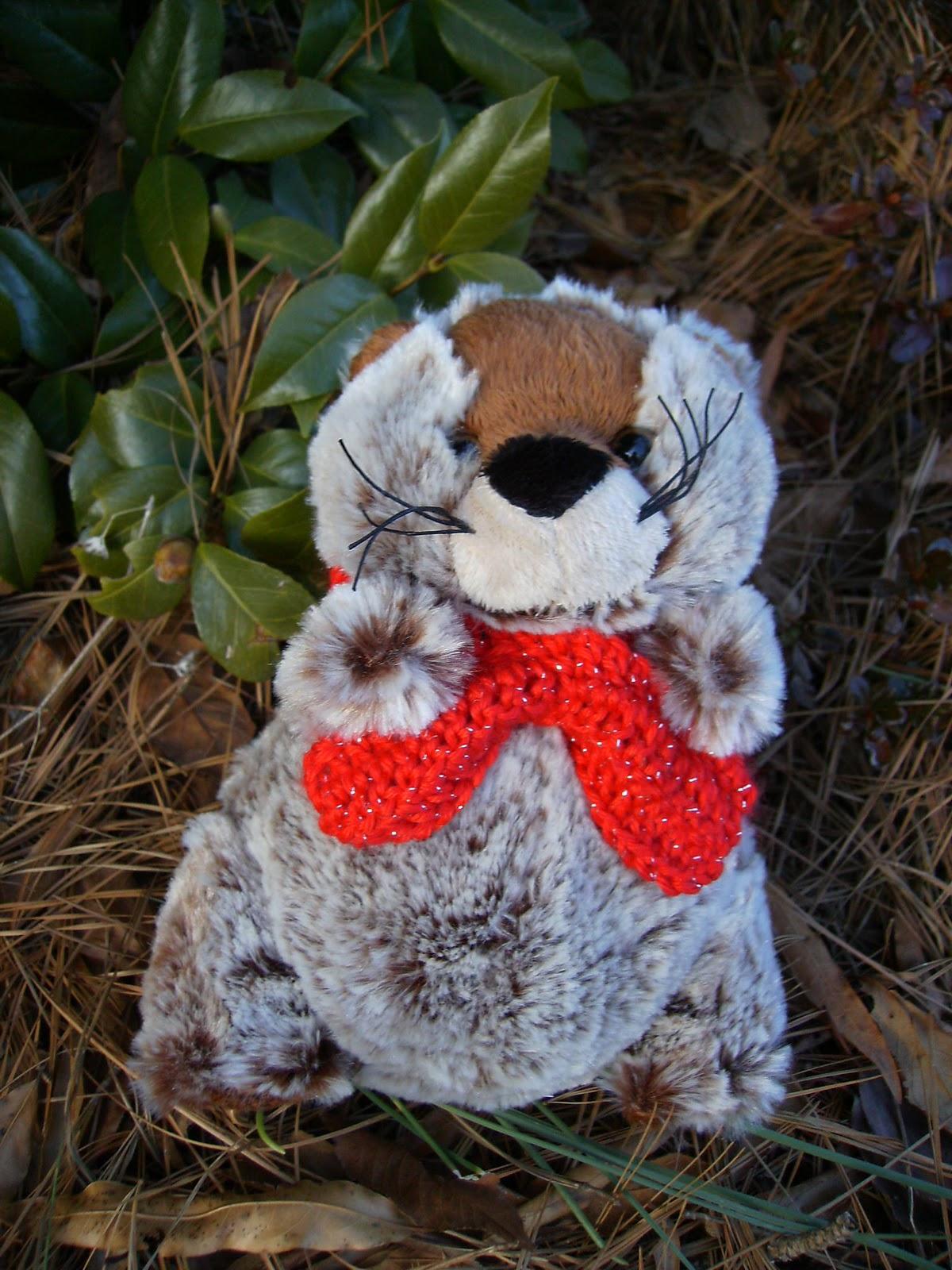 Free Crochet Patterns Groundhog : A Handmade Gift is a Beautiful Thing: Free Stuffed Animal ...