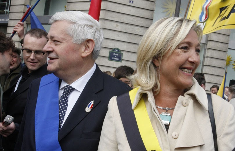 Galliawatch Marine Le Pen Wins Presidency Of The Front