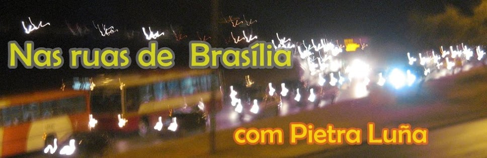 Nas ruas de Brasília