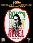 Tributo a Robert Nesta marley en el cultural roots