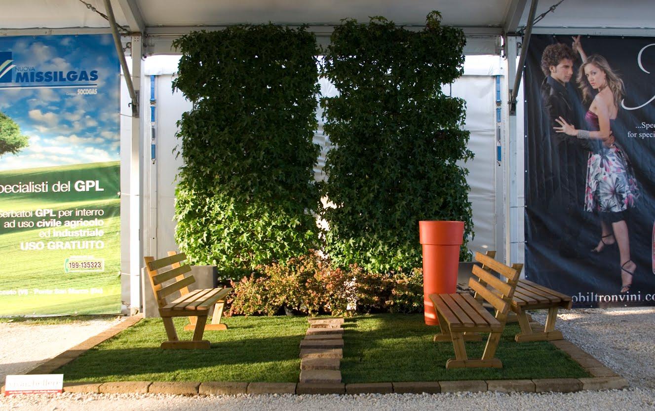 Il giardino verticale vivai ghellere - Giardino verticale interno ...