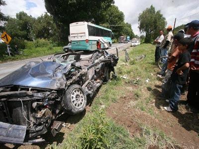 Siniestros en carreteras poblanas, en aumento