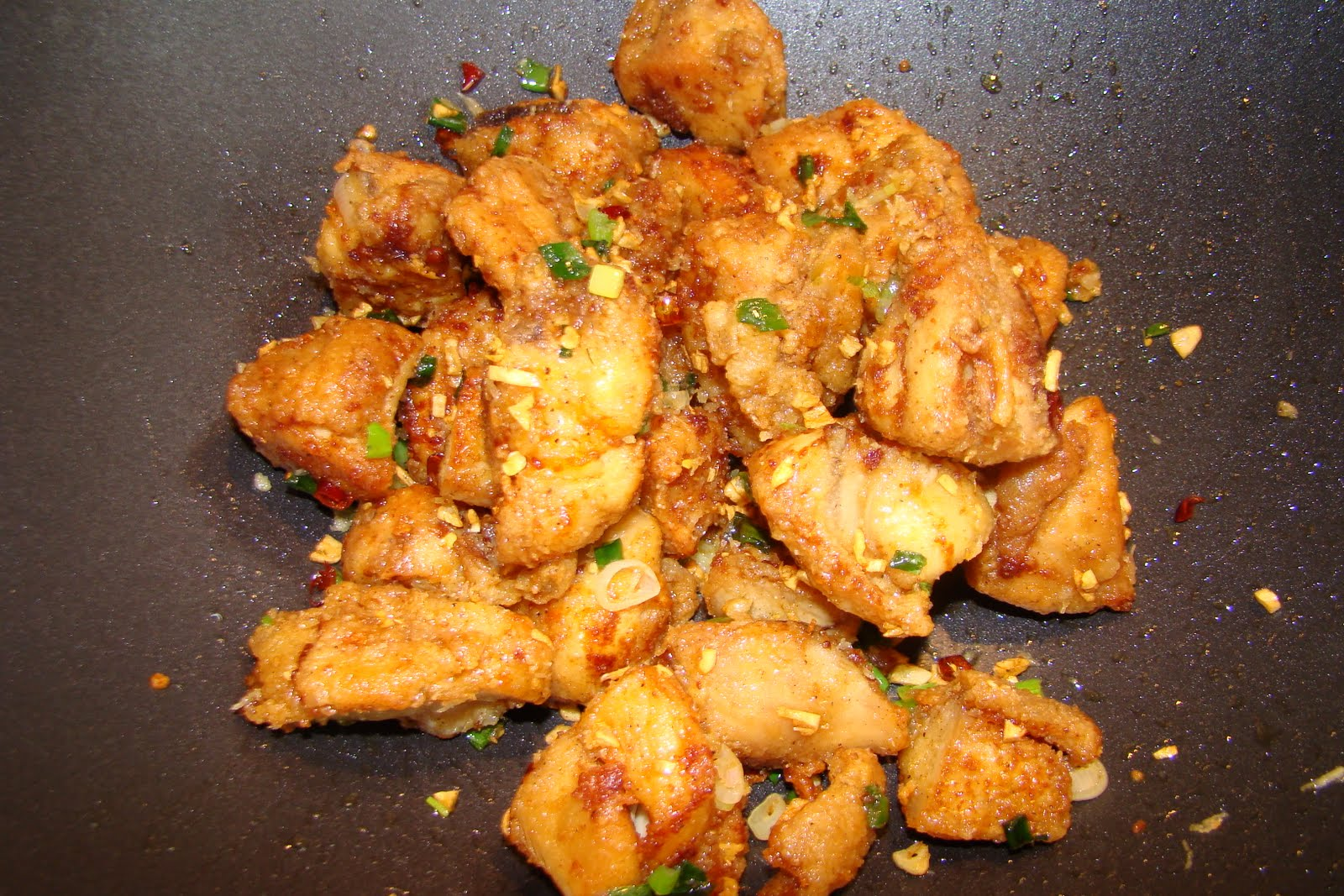 salt and pepper chicken wings. So I decided to try it out using my