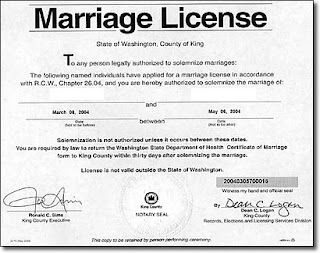 thank q should marriage licenses expire