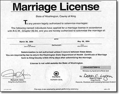 thank, q!: should marriage licenses expire?