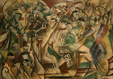 Athletic Competition   by Max Weber