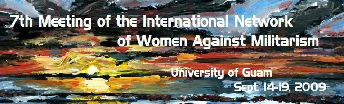 7th Meeting of the International Network of Women Against Militarization