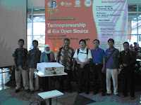 Seminar Technopreneurship di Era Open Source