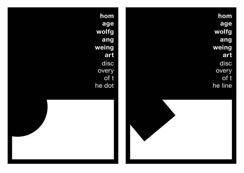 Serielle Arbeiten in Schwarz/Weiß aus dem 2. Semester | >