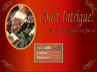 COURT INTRIGUE! - A COURTESAN'S QUES