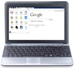 Google Chrome OS, Chrome Web Store, first Chrome netbook