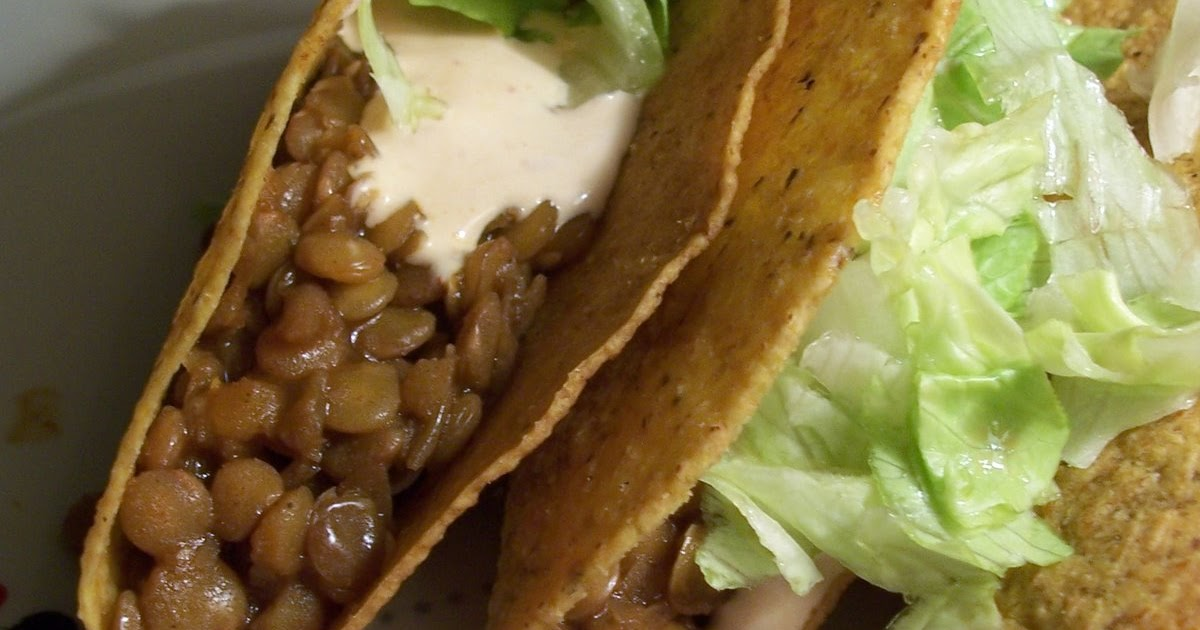 "Yeah, That ""Vegan"" Shit: Spiced Lentil Tacos"
