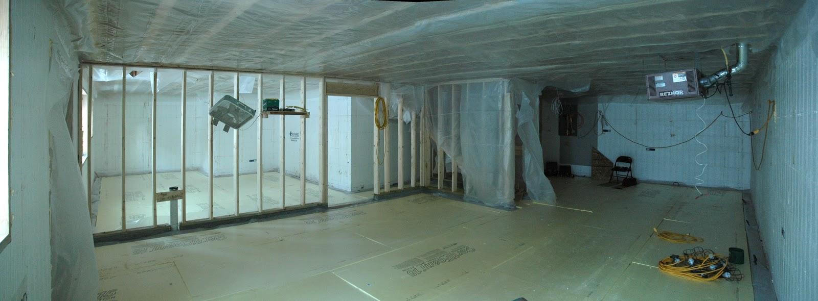 David 39 s icf home build basement for Icf basement