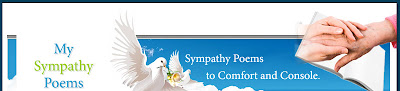 Sympathy Messages & quotes,  Sympathy poems or notes