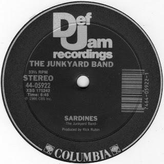Junk Yard Band - Sardines