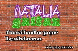 Justicia para Natalia!