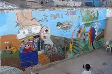 Mural realizado en el taller de mural del cabildo