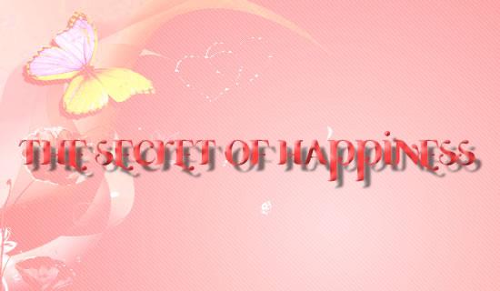 Dongeng Inspiratif - Rahasia Kebahagiaan