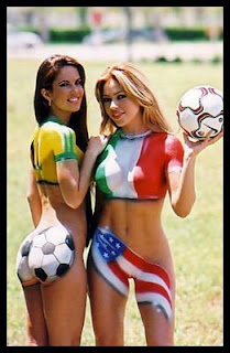 Body Paint Party State Flag World Cup