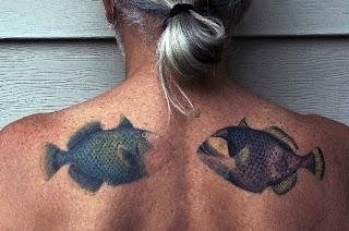 Tattoos Two Fish Piranha