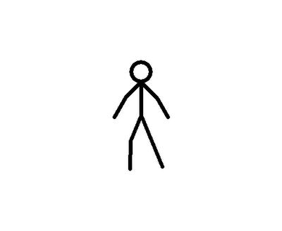 ... animasi orang dan setiap frame bingkai harus selalu di next frame
