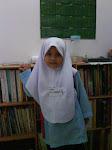 My cute daughter  T. Nur hannan