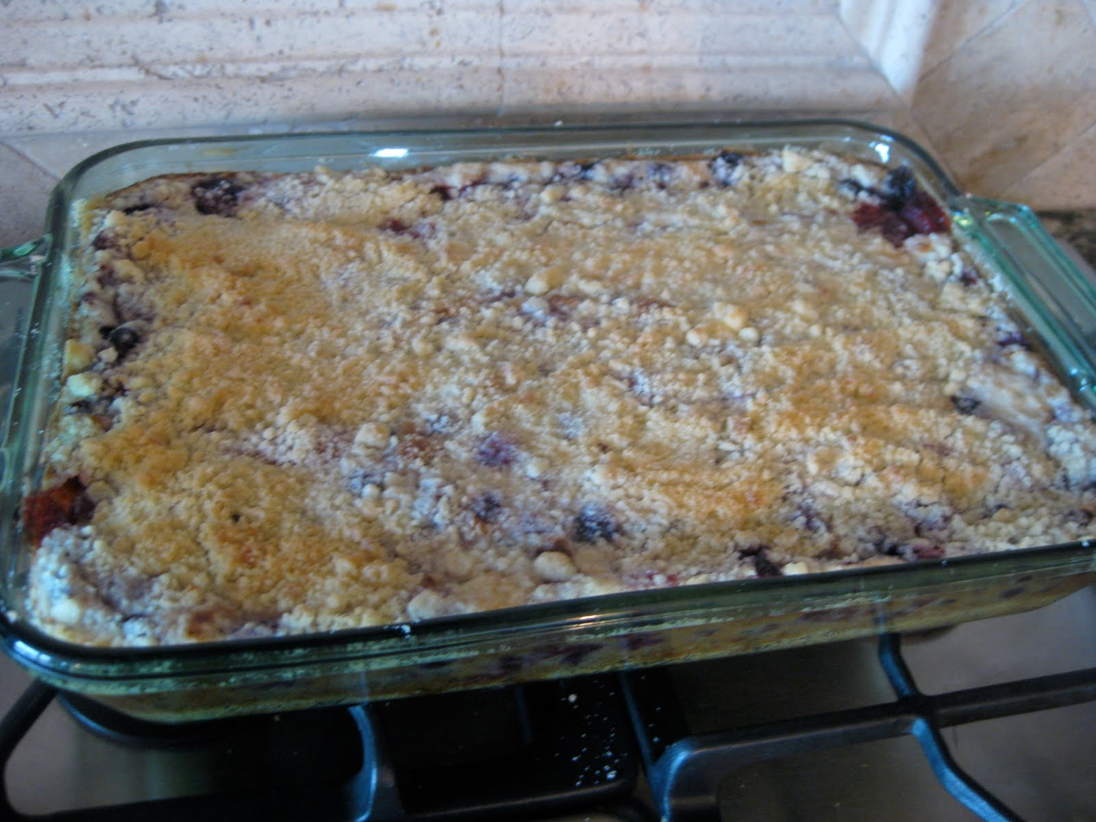Good Eats: Berry Cobbler Pie Bars