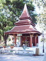 Mae Sai city pillar shrine