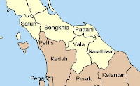 Southern provinces of Thailand and neighboring Malay states