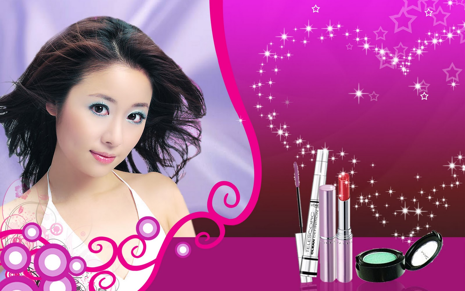 photo and wallpapers cosmetics advertising wallpapers