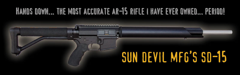 AR-15 Accuracy, Sun Devil Billet Receivers