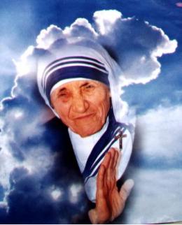 TERESA DE CALCUTA 1997