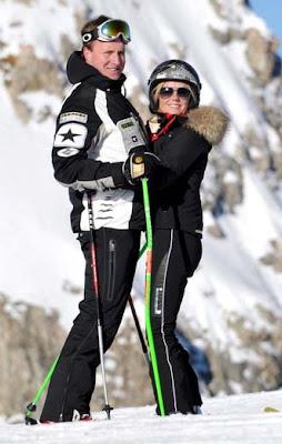Geri Halliwell with Henry Beckwith