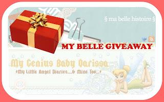 daku menang-My Belle Giveaway