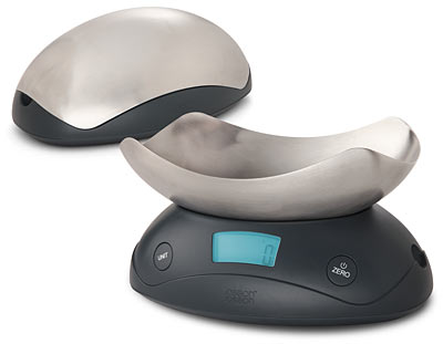 Domestinista: ThinkGeek :: Shell Digital Kitchen Scale