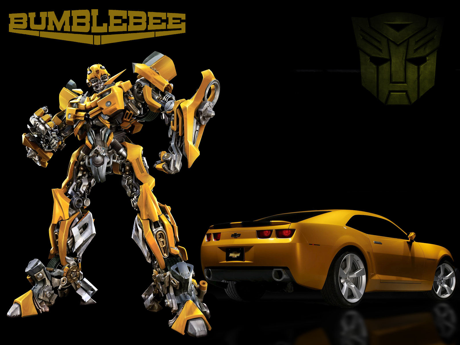 BUMBLEBEE OF THE TRANSFORMERS MET AN ACCIDENT